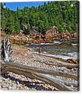 Black Brook In Cape Breton Highlands Np-ns Acrylic Print