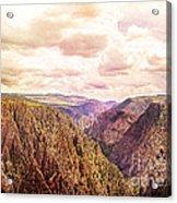 Black Canyon Colorado Acrylic Print