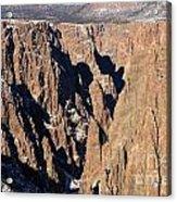 Black Canyon Pinnacles Acrylic Print
