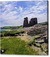 Black Castle Panorama Acrylic Print