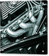 Black Cobra - Ford Cobra Engines Acrylic Print