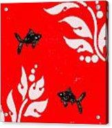 Black Fish Right Acrylic Print