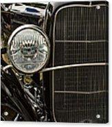 Black Ford Rod Acrylic Print