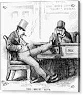 Black Friday Cartoon, 1873 Acrylic Print
