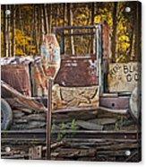 Black Hills Gold Truck Sign Acrylic Print