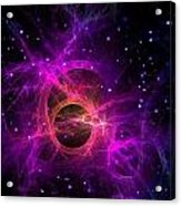 Black Hole In Space Acrylic Print