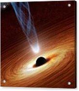 Black Hole Acrylic Print