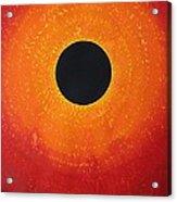 Black Hole Sun Original Painting Acrylic Print