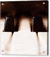Black Keys D Flat And E Flat  Acrylic Print