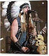 Black Label Society - Zak Wylde Acrylic Print