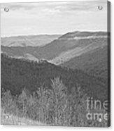 Black Mountain - Kentucky Bw Acrylic Print