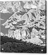 Black Mountains Of Arizona Acrylic Print