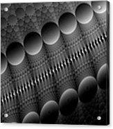 Black Pearls Acrylic Print