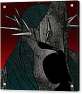 Black Rider Lotr Acrylic Print