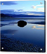 Black Rock Acrylic Print