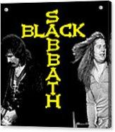 Black Sabbath 1978 Acrylic Print