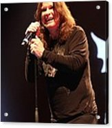Black Sabbath - Ozzy Osbourne Acrylic Print