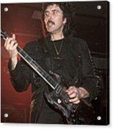Black Sabbath - Tony Iommi Acrylic Print