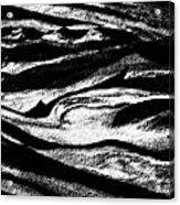 Black Sand  Acrylic Print