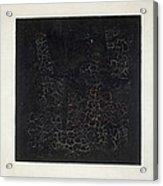 Black Square Acrylic Print