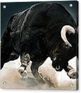Black Thunder Acrylic Print