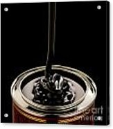 Black Treacle And Can Acrylic Print