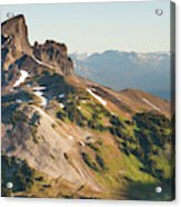 Black Tusk Mountain And Helm Lake Acrylic Print