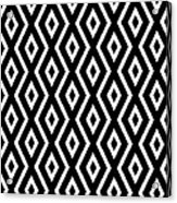 Black And White Pattern Acrylic Print