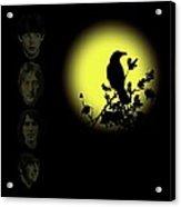 Blackbird Singing In The Dead Of Night Acrylic Print