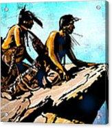 Blackfeet Scouts Acrylic Print