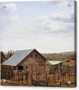 The Blackfoot Barn Acrylic Print