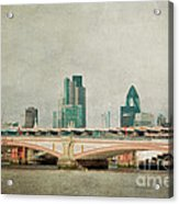 Blackfriars Bridge Acrylic Print
