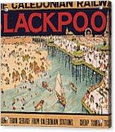 Blackpool Acrylic Print
