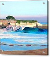 Blacks Beach - Santa Cruz Acrylic Print