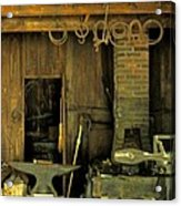 Blacksmith Anvil Acrylic Print