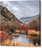 Blacksmith Fork Canyon Acrylic Print