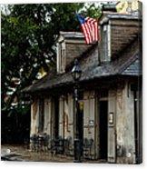 Blacksmith Shop On A Rainy Day Acrylic Print