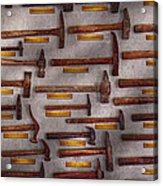 Blacksmith - Tools - Pounding Headache  Acrylic Print