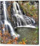 Blackwater Falls-2a Blackwater Falls State Park Wv Autumn Mid-morning Acrylic Print