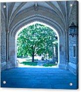 Blair Hall Arch Acrylic Print