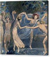 Blake: Fairies, C1786 Acrylic Print