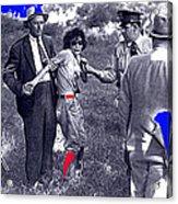 Blanche Barrow Captured July 24 1933 Dexfield Park Missouri  Acrylic Print