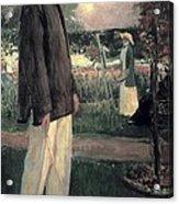 Blanche, Jaques 1861-1942. Jean Cocteau Acrylic Print