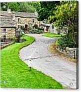 Blanchland Cottages Acrylic Print