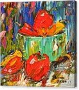 Blast Of Color Acrylic Print by Barbara Pirkle