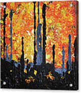 Blaze Acrylic Print