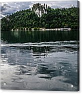 Bled Lake Landscape Acrylic Print