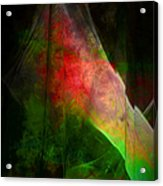 Bleeding Green Acrylic Print