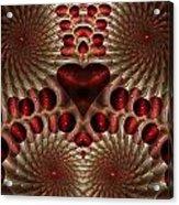 Bleeding Heart Acrylic Print