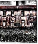Bleeding House Acrylic Print